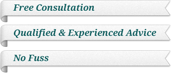 Free Consultation, Qualified & Experienced Advice, No Fuss
